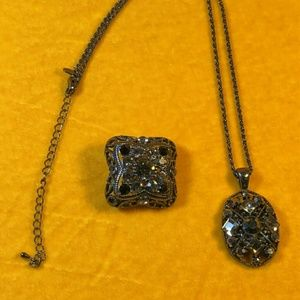 Necklace and slide pendant
